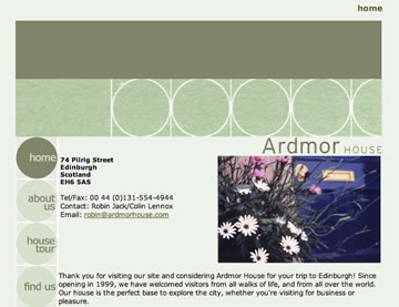 Ardmor House site